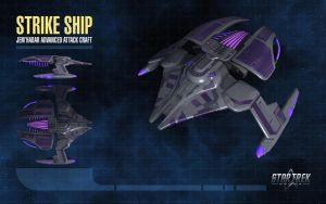 Jem'Hadar Strike Ship for Star Trek Online by thomasthecat