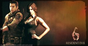 Piers Nivans and Helena Harper - Resident Evil 6 by BetthinaRedfield