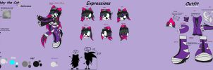 .:Gabby The cat Reference:. by Kitsunefangirl4life