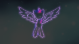 Behold, Princess Twilight Sparkle by ISkyArt