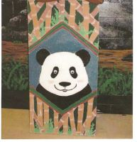 :-:My Ceiling Tile: PANDA:-: by fastclickchic0413