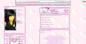 Hello Kitty myspace by LadyPinkilicious