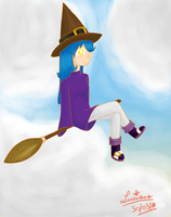 A Witch... Not named yet... by Akeudi