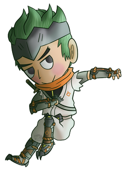 Young Genji Cabbage Baby by Spychedelic
