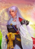 Sesshomaru by Marizano