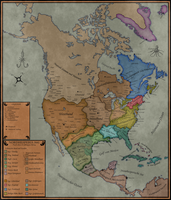 Alternate North America by Sapiento