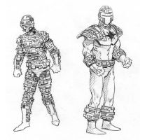 Nemesis Sketches by JeffDee