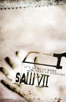 saw VII fanPoster by marty-mclfy