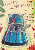 I wanna have a Dalek for CHRISTMAS by StarlightsMarti