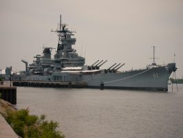 USS New Jersey by The-Nightshift