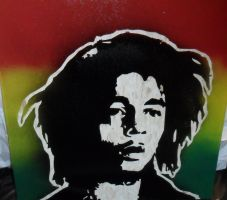 Bob Marley by punkdaddy74