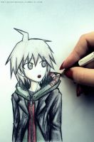 Dangan Ronpa - Playing with Naegi by MelSpontaneus