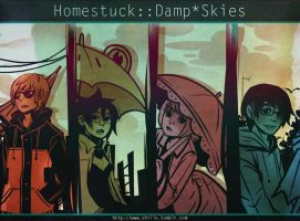Homestuck:: Damp Skies by Shilloshilloh