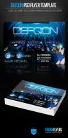 Defqon Party Flyer Template by ImperialFlyers