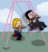 GETTING REAL TIRED OF YOUR SHIT THOR by Kallian91