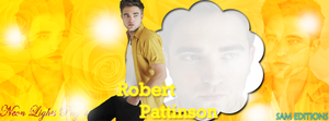 Portada Robert Pattinson by SamSchmidtEdition
