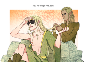 the HOBBIT: Hangover King by RinGreen