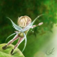 Forest Fairy by ilo-ka