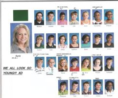 OLD YEARBOOK: What they were thinking by CrazyCousins