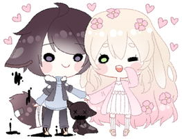 [cm] Mei and Ryota by rinihimme