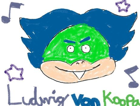 Luddy on Crayola App by Toon92