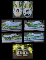 Pride and Prejudice Shoes by Irise