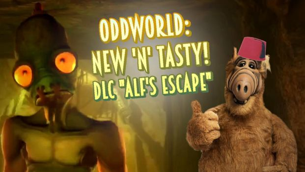 Let's Play Oddworld: New 'n' Tasty! - Alf's escape by oldiblogg