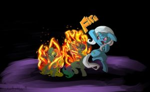 Trixie Casts Fire by tofutiles