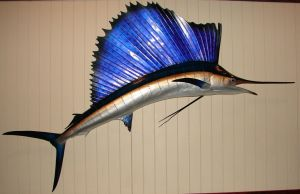 Blue Marlin Fish by FantasyStock