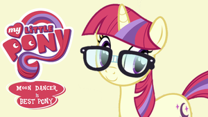 My Little Pony: Moon Dancer Is Best Pony by PhotoshopExpress