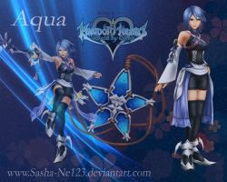 Aqua wallpaper by Sasha-Ne123