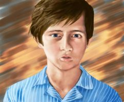 Young Charles Xavier by ella-marie