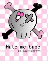 Hate me babe. by ze-punky-death