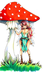 [Commision] - Under the Mushroom by Floodlight-Zhou