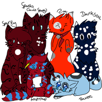 Ask/Dare me and my Ocs[150 Watchers wuheeey] by Sparkylovecupcakes