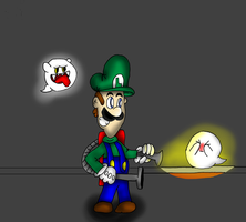 Luigi and the Ghosts by gamerman77