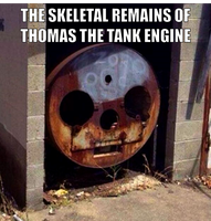 Thomas The Tank Engine by onyxcarmine
