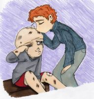 Jason Has a Boo-Boo by thedarklordkeisha