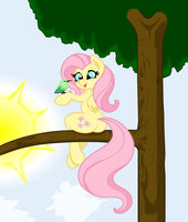 Vector: Fluttershy by Joey-Darkmeat by kyleevee