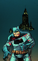 Batman Darn Knight by drucpec