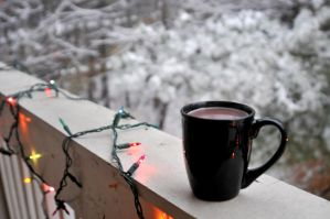 Hot Cocoa In The Snow by LDFranklin