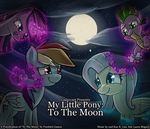 MLP: To The Moon 1 by Galaxyart