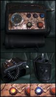 Steampunk Vortex Manipulator/Wrist Strap by Launchycat