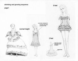 Another Alice Costume Sketch by AliceInWonderland