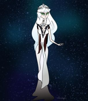 Mab, Queen of the Winter Court by Flaminghost