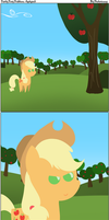 Pointy Pony Problems: Applejack by Photonicsoup