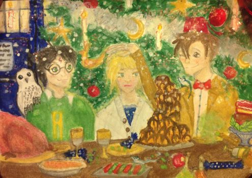 Merry Dr./Potter Christmas! (Finished) by HeartofSummer