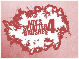 Ady's Splatter Brushes 4 by Ady333