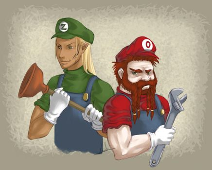Broma Bros Plumbers by Zinoodle