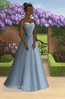 Tiana at the Costume Party by LadyAquanine73551